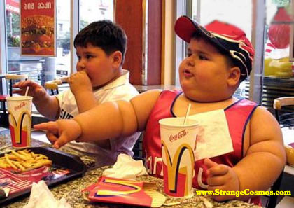Overweight and Obesity levels in children skyrockets